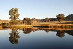Yarra Valley. Beautiful countryside in the Yarra Valley near Melbourne, Australia Stock Images