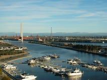 Yarras Rand-Jachthafen Lizenzfreie Stockfotografie