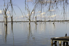 Yarrawonga. Lake Mulwala, NSW Australia Stock Photo