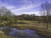 Yarrow valley nature reserve Stock Photo