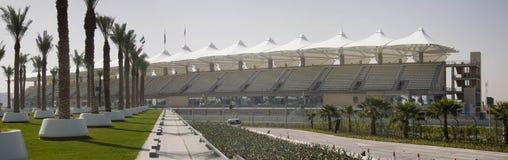 yas стадиона Марины Стоковая Фотография
