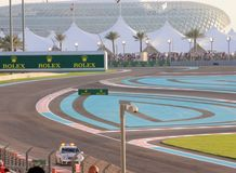 Yas Circuit official safety car Stock Photos