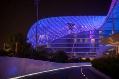 yas för Abu Dhabi hotellmarina Royaltyfria Bilder