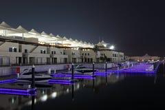 Yas Jachthafen in Abu Dhabi Lizenzfreies Stockbild