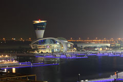 Yas Jachthafen in Abu Dhabi Stockfotografie