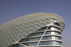 Yas Jachthafen-Hotel in Abu Dhabi Stockfotos