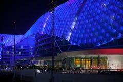 YAS Jachthafen-Hotel, Abu Dhabi Stockbild