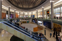 Yas Mall in Abu Dhabi, UAE Stock Photography