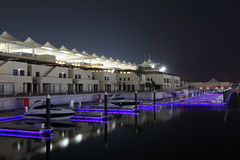 Yas Marina in Abu Dhabi Royalty Free Stock Image