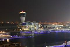 Yas Marina in Abu Dhabi Stock Photography