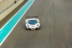 Yas Marina Bieżnego obwodu sportów Samochodowy Ścigać się w Abu Dhabi Obrazy Stock