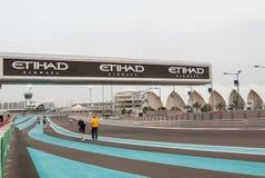Yas Marina Circuit Imagem de Stock
