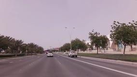 Yas Marina Circuit auf Yas-Insel im Abu Dhabi-Vorratgesamtlängenvideo stock video footage