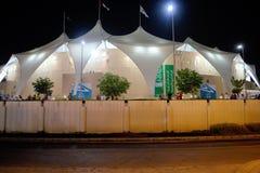 Yas Marina Circuit Pavillions Photos libres de droits