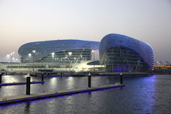 Yas Marina Hotel stock photo