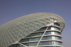 Yas Marina Hotel in Abu Dhabi Stock Photos