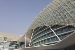 Yas Marina Hotel in Abu Dhabi Stock Image