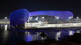 Yas Marina Hotel, Abu Dhabi Royalty Free Stock Photo