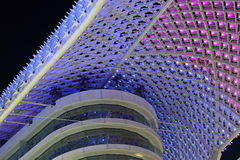 Yas Marina Hotel, Abu Dhabi Royalty Free Stock Photography