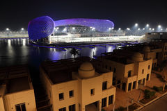 Yas Marina Hotel, Abu Dhabi Stock Photo