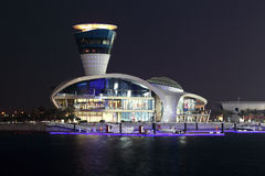 Yas Marina at night, Abu Dhabi Stock Photography