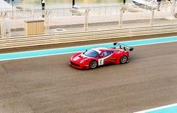 Yas Marina Racing Circuit Sports Car Racing in Abu Dhabi Stock Images