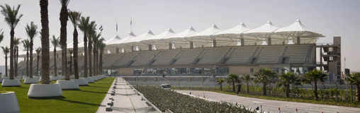 Yas Marina Stadium Stock Photography