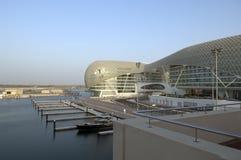 yas UAE prix Марины Abu Dhabi грандиозные Стоковые Фотографии RF