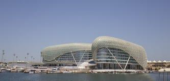 Yas vicekonung Abu Dhabi Hotel i Abu Dhabi, Förenade Arabemiraten Arkivbild