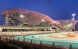 Yas vicekonunghotell Abu Dhabi United Arab Emirates Arkivfoto