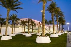 Yas vicekonunghotell Abu Dhabi United Arab Emirates Arkivbild