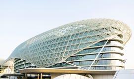 Yas vicekonunghotell Abu Dhabi United Arab Emirates Royaltyfri Fotografi