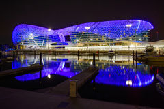 Yas Viceroy Hotel Stock Images