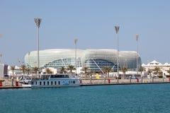 Yas Viceroy Hotel in Abu Dhabi Royalty Free Stock Photo