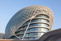Yas Viceroy Hotel in Abu Dhabi Royalty Free Stock Photos