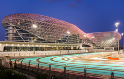 Yas Viceroy Hotel Abu Dhabi United Arab Emirates Stock Photo