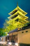 Yasaka塔& x28; Hokan籍Temple& x29; 库存图片