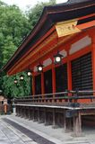 Yasaka Gion寺庙 免版税库存照片