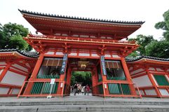 Yasaka Gion Shrine fotos de stock
