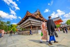Yasaka-jinja в Киото стоковые фотографии rf