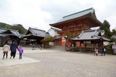 Yasaka Jinja em Kyoto, Japão Fotografia de Stock