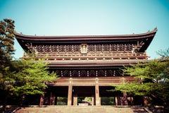 Yasaka Jinja i Kyoto i Japan arkivbilder