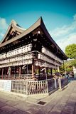 Yasaka Jinja in Kyoto in Japan Stock Photography