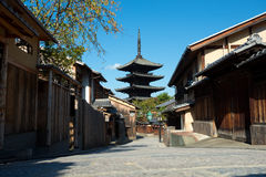 Yasaka-no-to Pagoda, Kyoto, Japan Stock Photos