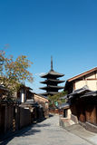 Yasaka-no-to Pagoda, Kyoto, Japan Stock Photography