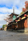 Yasaka Pagoda in autumn royalty free stock photos
