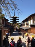 Yasaka pagoda Royalty Free Stock Photography