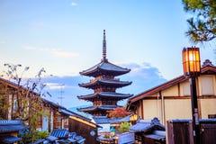 Yasaka pagoda obraz royalty free