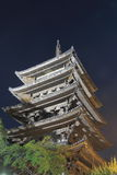 Famous Yasaka Pagoda  Royalty Free Stock Photography
