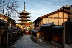 Yasaka Pagoda Stock Image